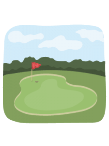 golf courses icon